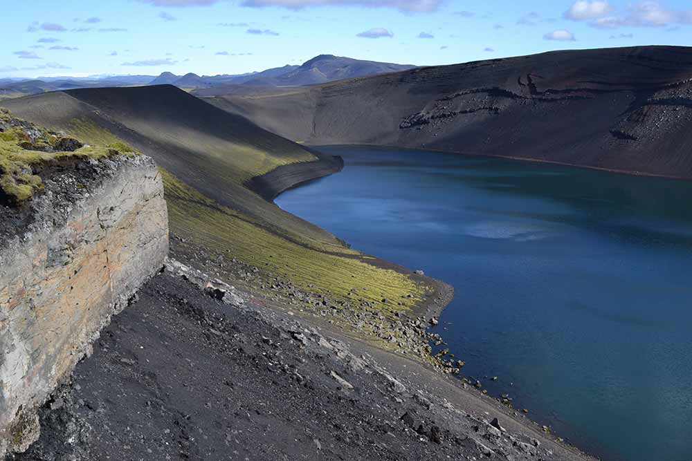Ljótipollur eruption crater