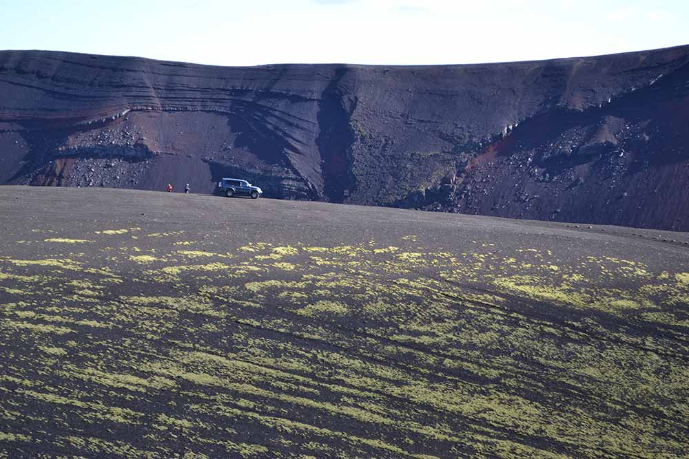 Ljótipollur eruption crater