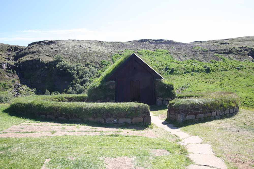 The viking house in Þjórsárdalur