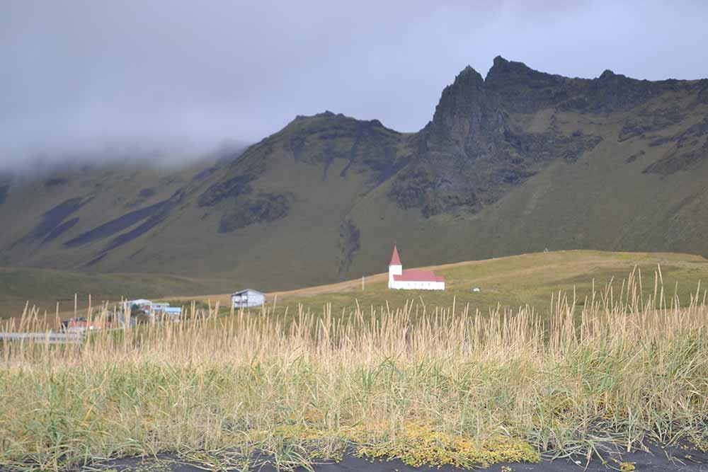The Church at Vík