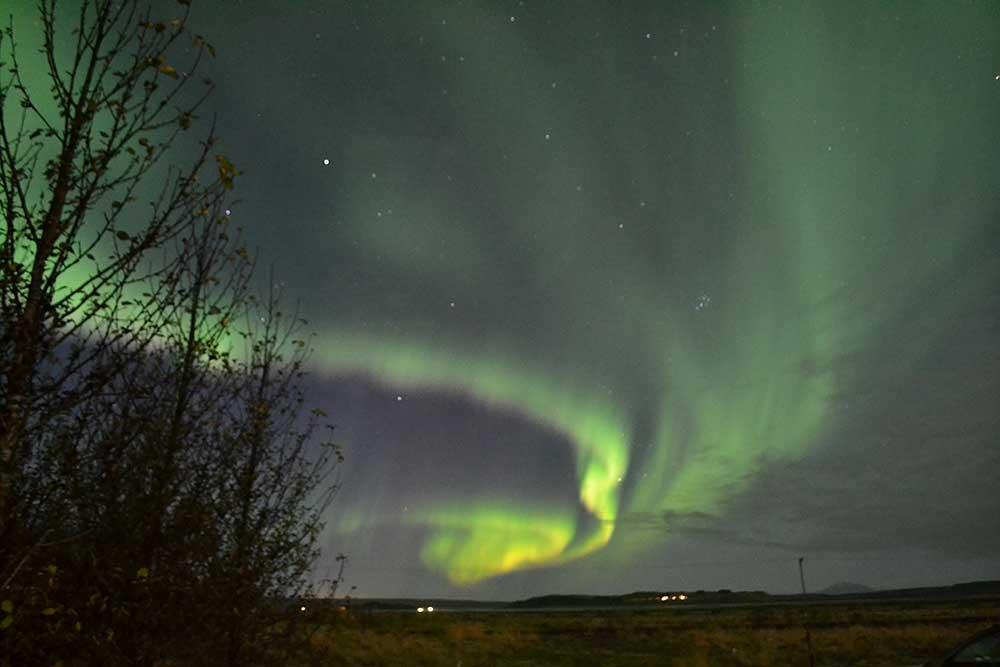 Northern light show