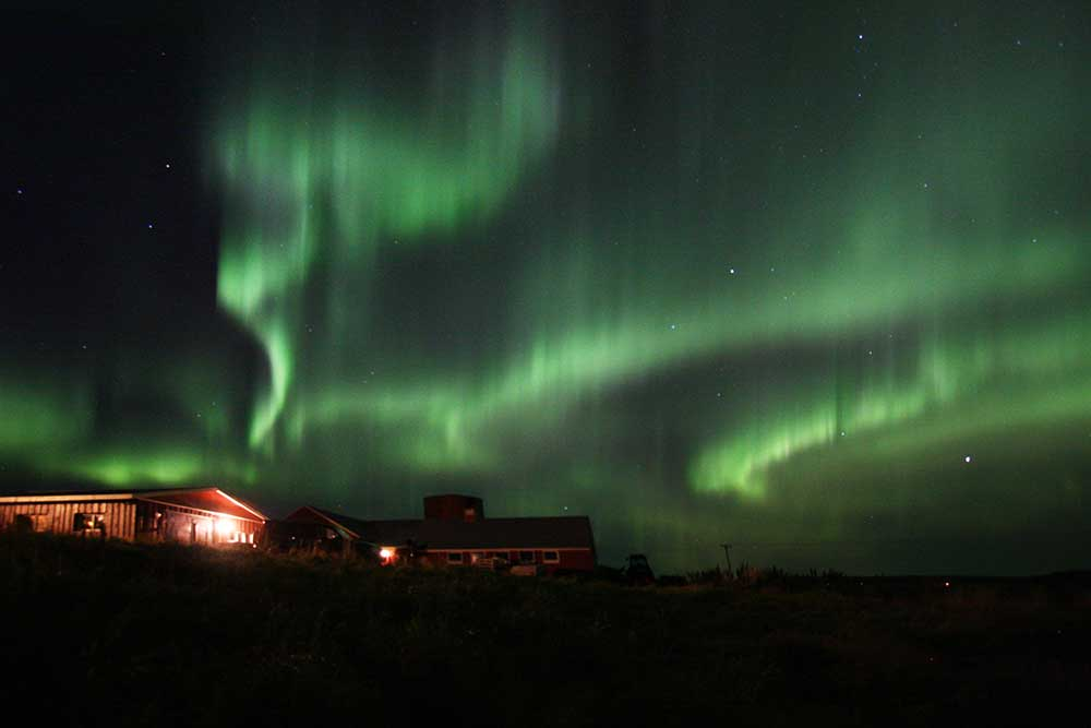 Northern light show