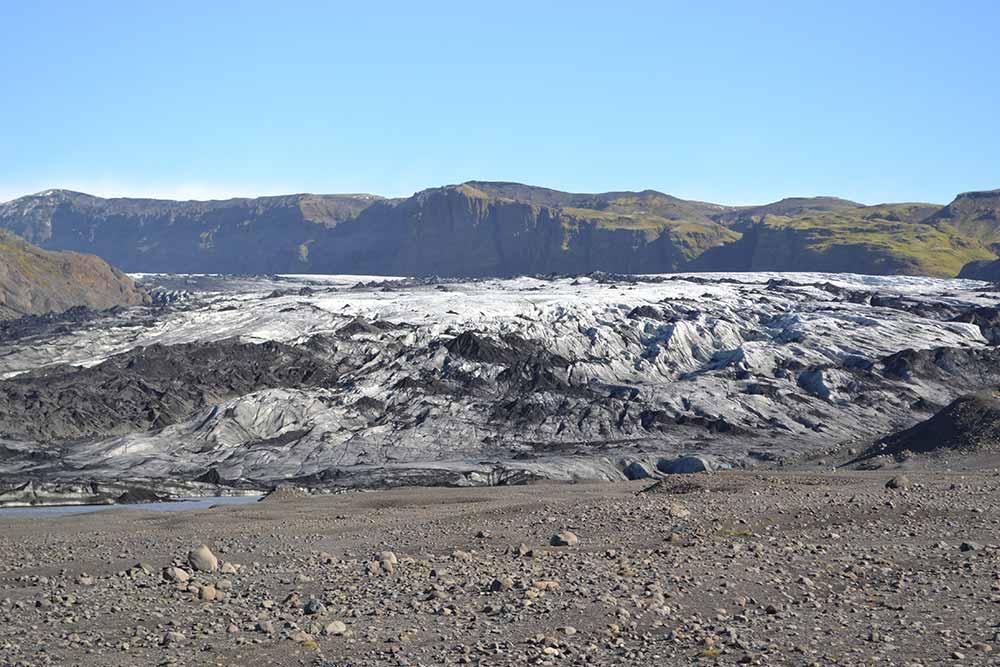 Sóplheimajökull glacier