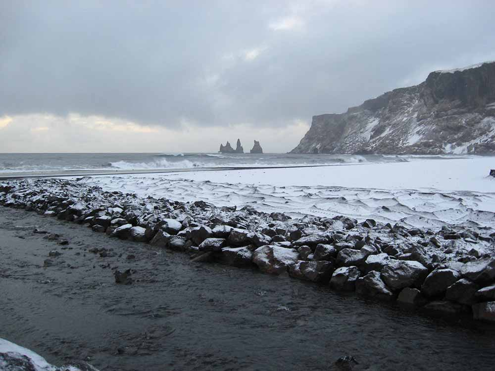 Reynisdrangar in South Iceland